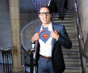 Trudeau Superman