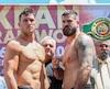 Simon Kean et Adam Braidwood sont fin prêts pour leur combat de samedi soir.
