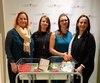 Les Montréalaises Stéfany Corey, Rosa Caporicci, Annick Robinson et Désirée McGraw ont permis à l'Hôpital Royal Victoria de se doter d'un berceau réfrigérant.