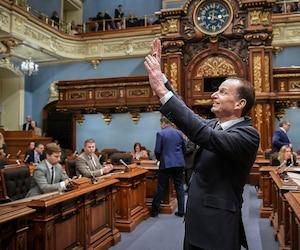 Éric Girard, <i>ministre des Finances</i>