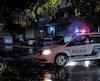 Un large périmètre de sécurité a été installé par les policiers de Montréal autour de la scène de crime, mardi soir, dans l'arrondissement de Mercier–Hochelaga-Maisonneuve.