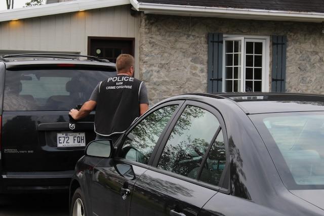 Saisie effectuée en ce mercredi matin à Sainte-Catherine-de-la-Jacques-Cartier