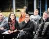 Des commerçants de Stoneham en colère contre la hausse de 25% des taxes commerciales étaient présents, mercredi, à la séance extraordinaire du conseil municipal.