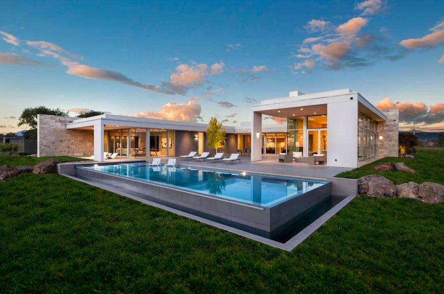 Demeures de rêve: un vignoble californien et sa maison hyper moderne ...