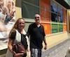 Colette et Christian Ribot sont allés faire leurs emplettes à la LCBO d'Ottawa après s'être butés à des portes fermées dans une SAQ de Gatineau.