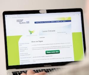 Site internet Comité entraide