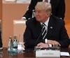 Le président chinois Xi Jinping et son homologue américain Donald Trump lors du sommet du G20 de 2017, à Hambourg, en Allemagne.