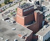 L'usine Molson à Montréal.