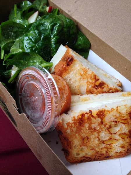 Grilled cheese au fromage mozzarella