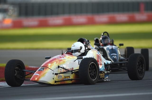 Olivier Bedard termine en deuxième place en séance de qualifications de la Formule 1600 lors du Grand Prix de Montréal sur le circuit Gilles Villeneuve, vendredi 6 juin 2014.
