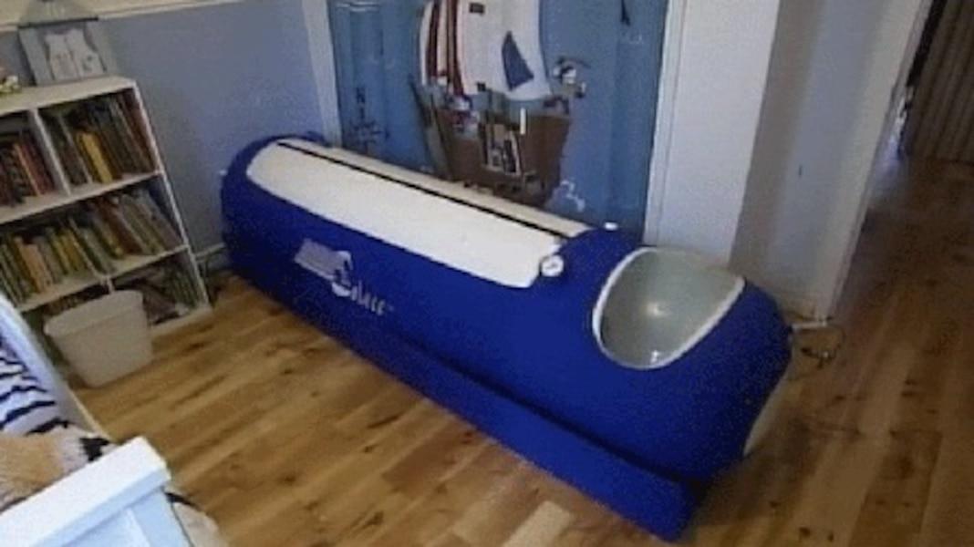 Une Chambre Hyperbare Portative Pour Le Petit Collin Jdm