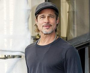 L'Italie sied à Brad Pitt, visiblement plus détendu que jamais.