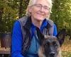 Laura Chouinard joggait en compagnie de son berger allemand lorsqu'elle a été attaquée par un bœuf.