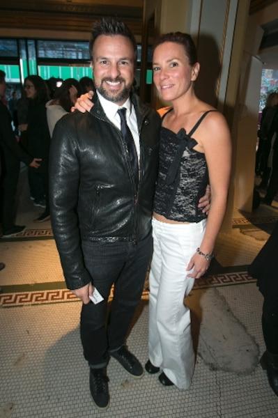 Le réalisateur Daniel Roby et sa conjointe Rachel Fontaine.