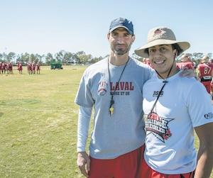 Francesco et Enzo Pepe Esposito ont eu le privilège de vivre le camp de printemps du Rouge et Or en Floride la semaine dernière.