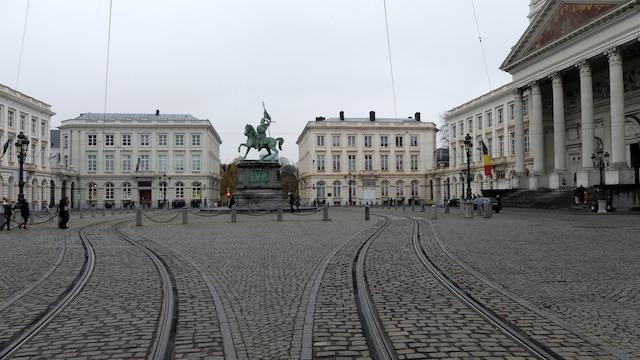 Le tramway bruxellois divise la place. Il traverse la ville et c'est le moyen le plus pratique pour se rendre d'un bout à l'autre de la capitale.