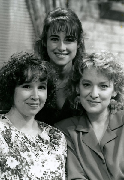 1994 - Valerie Gagné, Marie-Soleil Tougas et Isabelle Miquelon.