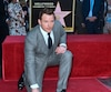 L'acteur Chris Pratt à l'inauguration de son étoile sur la Voie de la Célébrité à Hollywood.
