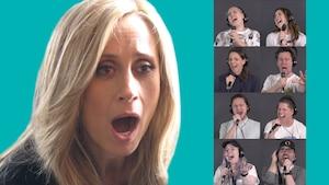Des Québécois chantent «Je t'aime» à Lara Fabian