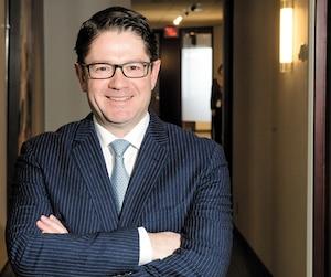 Éric Martel, président-directeur général d'Hydro-Québec, reconnaît qu'HQ et les autres entreprises d'énergie «n'ont jamais été challengées» auparavant et que la société d'État fait maintenant face à un «bouleversement majeur».