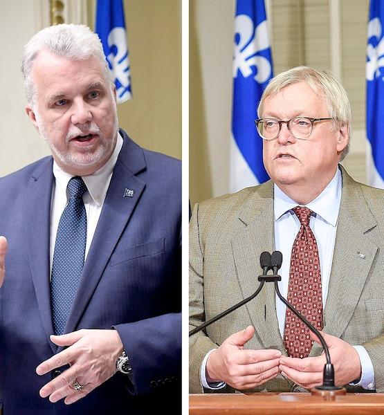 Philippe Couillard a indirectement rembarré son ministre de la Santé Gaétan Barrette au sujet du cannabis, jeudi, en Chambre.