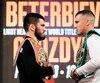 Champion des mi-lourds de l'IBF, Artur Beterbiev tentera de ravir à Oleksandr Gvozdyk la ceinture du WBC, vendredi.