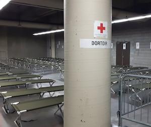 Stade olympique réfugiés