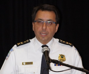 Mario Harel, chef de police de la Ville de Gatineau.