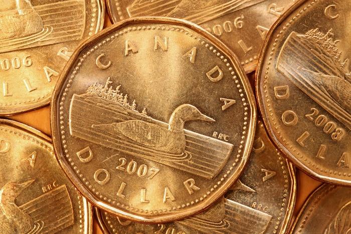Bloc Canadien dollar huard