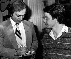 Guy Lafleur avait une admiration sans borne pour Gilles Villeneuve qu'il a rencontré à quelques reprises pendant sa carrière professionnelle.