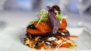 Image principale de l'article Napoléons de légumes et saumon