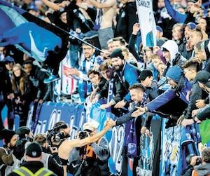 Ignacio Piatti a fait un dernier tour de piste au Stade Saputo en saluant les partisans après la victoire des siens, dimanche.