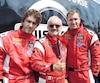 Martin, Michel et Nicolas Barrette sont réunis dans la même course au Grand Prix de Trois-Rivières.