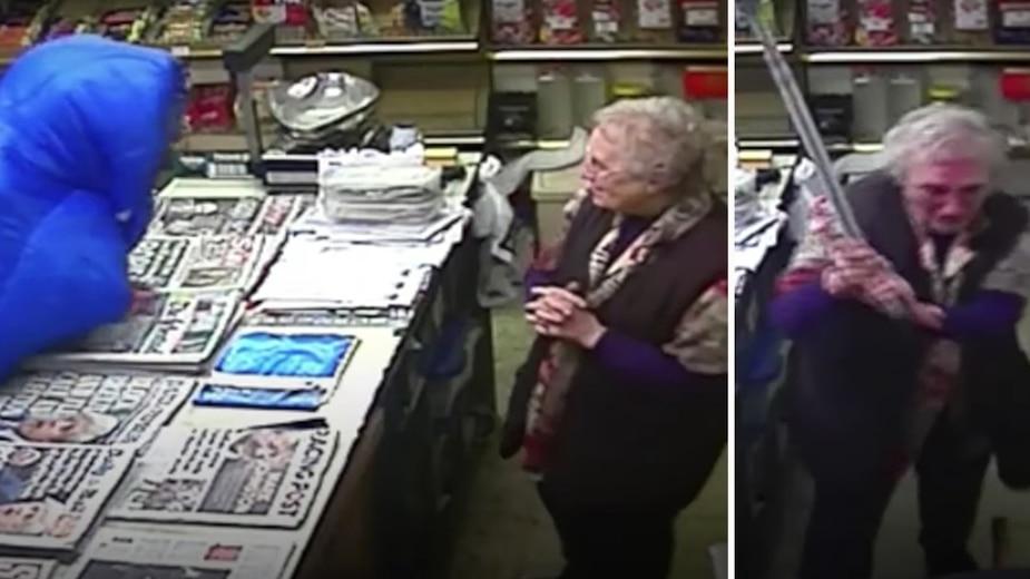 [VIDÉO] À 82 ans, elle bat un voleur avec sa canne