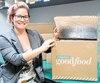 Nancy Lamontagne, technicienne au centre de recherche de Cascades, a travaillé à la conception de la boîte isolante destinée à Marché Goodfood.