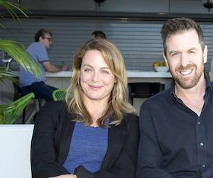 De la série Victor Lessard à la comédie De père en flic 2, Patrice Robitaille et Julie Le Breton ont beaucoup joué ensemble dans la dernière année.