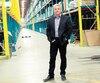 Le président de Lowe's Canada,Sylvain Prud'homme, dans l'entrepôt de l'entreprise à Boucherville, où l'espace se fait de plus en plus rare.