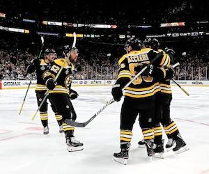 Les Bruins de Boston n'ont pas perdu en séries depuis le match no 4 contre les Blue Jackets de Columbus en deuxième ronde.