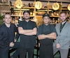 Les membres de l'équipe du restaurant Hà: Maxime Paquette, Robin Filteau, Ross Louangsignotha et Ryan J. Young.