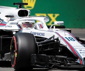 Au volant de sa Williams, Lance Stroll a connu sa large part de difficultés pour ainsi terminer au 19erang aux essais libres, vendredi.
