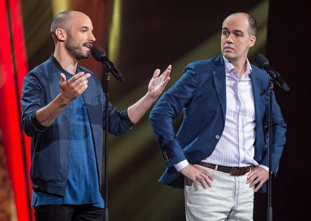 Guillaume Wagner et Guy Nantel.