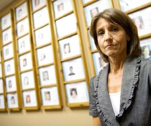 Pina Arcamone d'Enfant-Retour Québec.