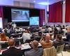 Les médecins spécialistes, présents à l'IUCPQ dans le cadre d'un congrès de chirurgie thoracique qui se déroule à Québec, ont assisté lundi matin à une thoracoscopie pratiquée en direct.