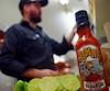 Jean-Sébastien Gauthier utilise que des ingrédients naturels dans ses sauces piquantes.