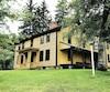 Arrowhead, la maison de ferme dans laquelle Herman Melville a écrit Moby Dick.