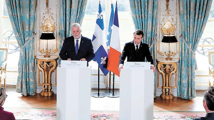 Est-ce l'air de Paris qui, pour une deuxième fois, a produit chez Philippe Couillard une sorte d'illumination?