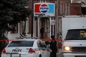 La victime, Chao Peng, se trouvait dans le commerce de la rue Mercier.