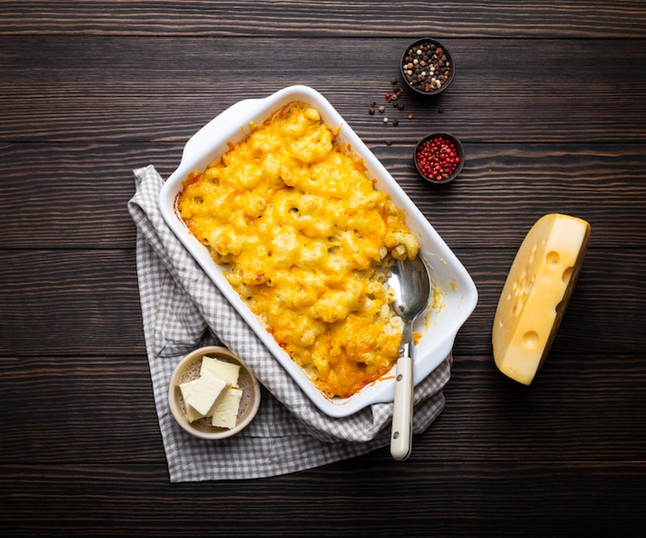 Mac and cheese à la courge