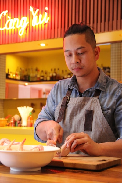 Phong Thach, du restaurant Red Tigre