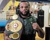 Jean Pascal a fièrement exhibé sa ceinture de champion du monde WBA des mi-lourds, mercredi, aux médias montréalais.